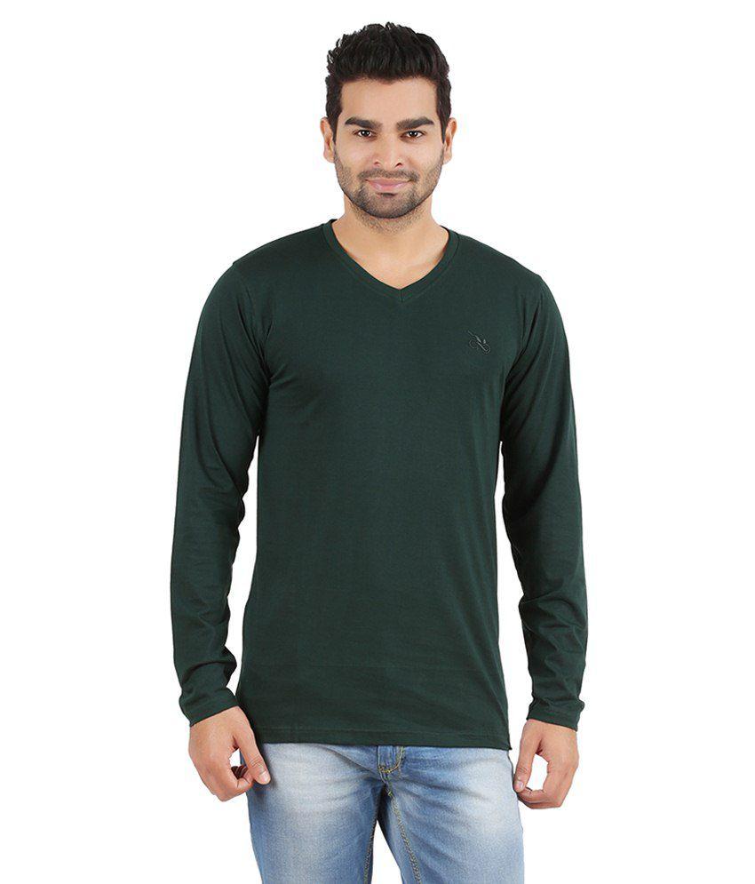 R-Cross Green Cotton T Shirt