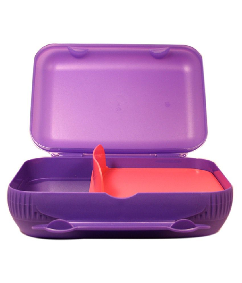 tupperware multicolour plastic lunch box buy online at best price in india snapdeal. Black Bedroom Furniture Sets. Home Design Ideas