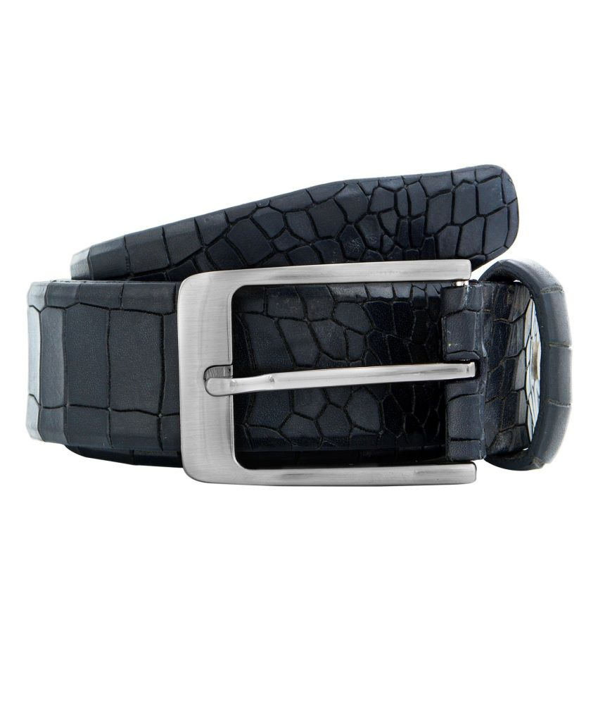 Colorplus Black Formal Single Belt For Men