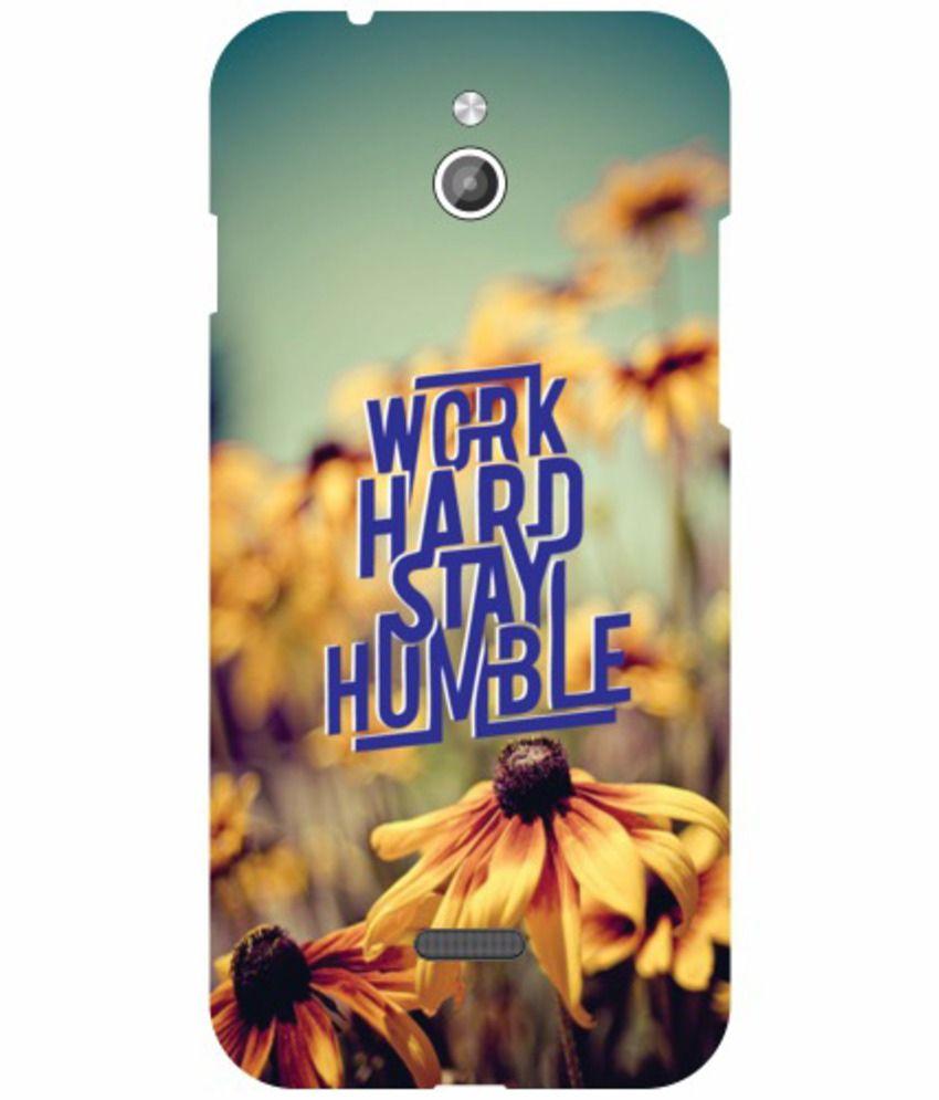 Printland Designer Back Cover For Infocus M2 Work Hard