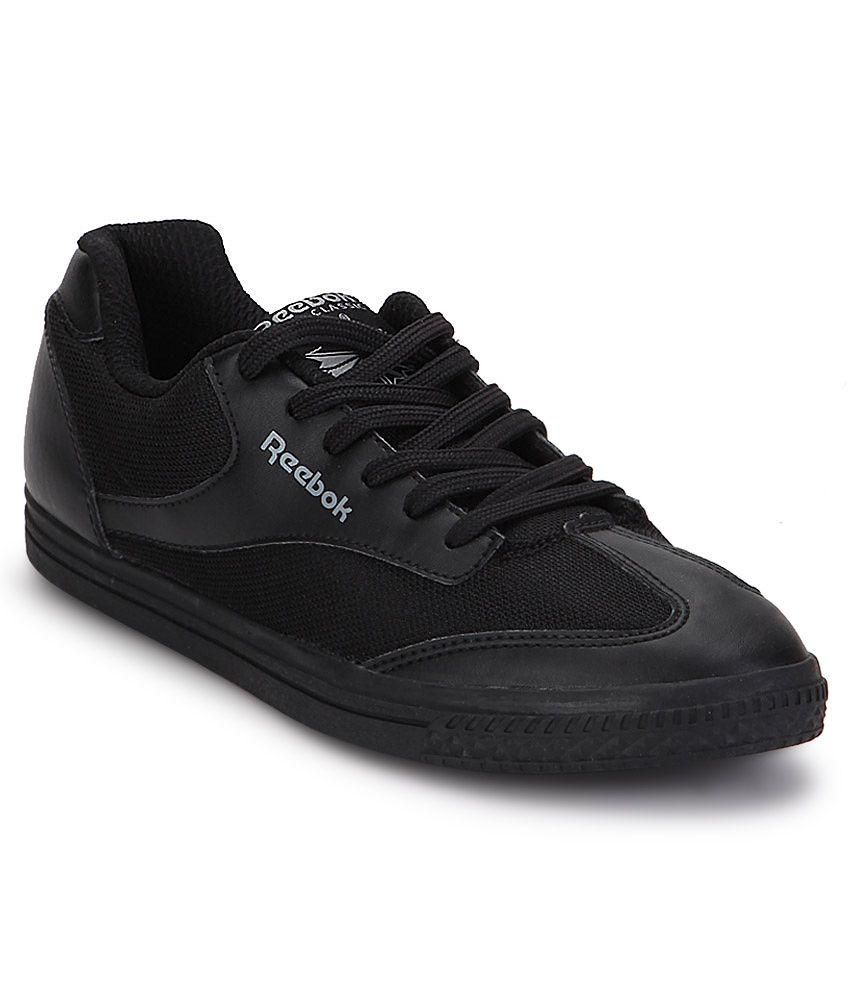 aa05dabc143 Reebok Black Smart Casuals Shoes - Buy Reebok Black Smart Casuals ...