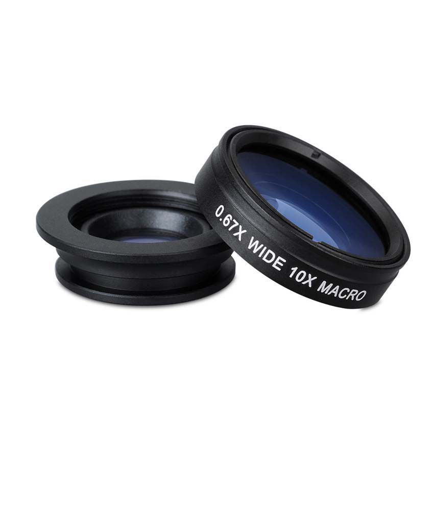 Mpow 3038 Macro 3 In 1 Clip-on Fisheye Iphone Lens
