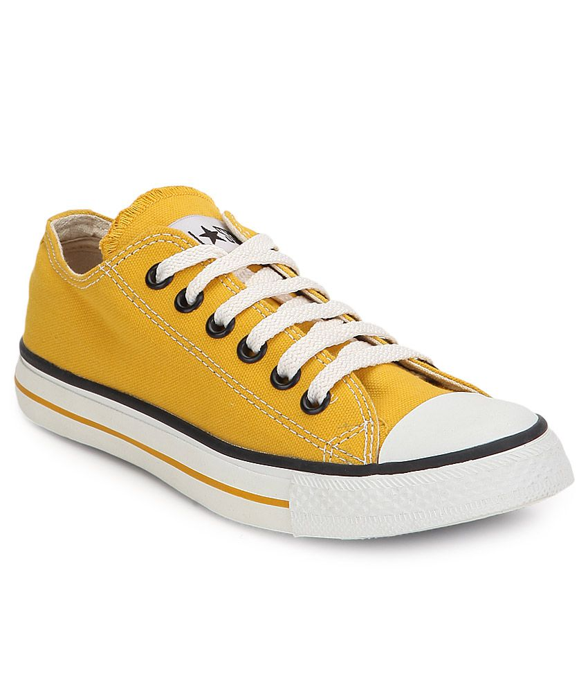 converse yellow shoes india
