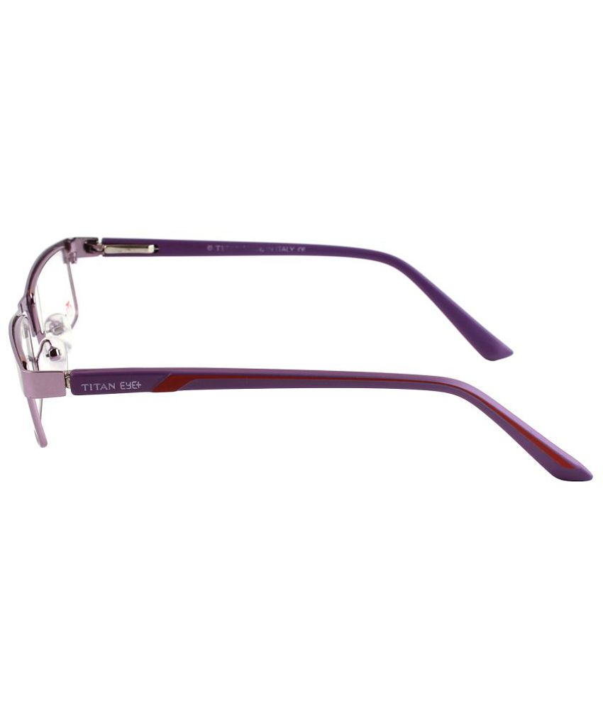 9ae405f36a Titan Eye Plus Purple Metal Frames Eyeglass - Buy Titan Eye Plus ...
