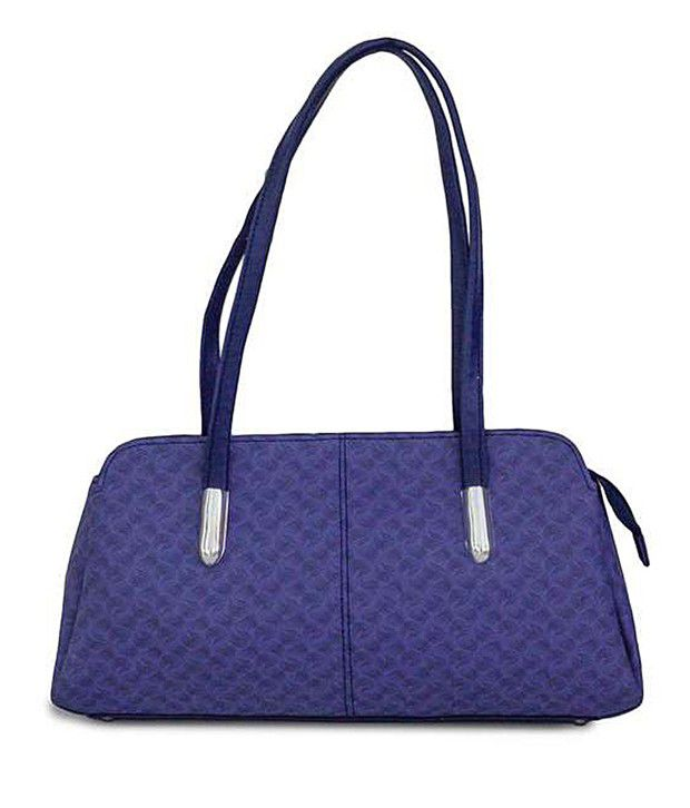 Be 13 Blue Shoulder Bag