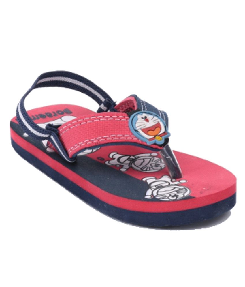 doraemon bright red sandals for kids price in india buy