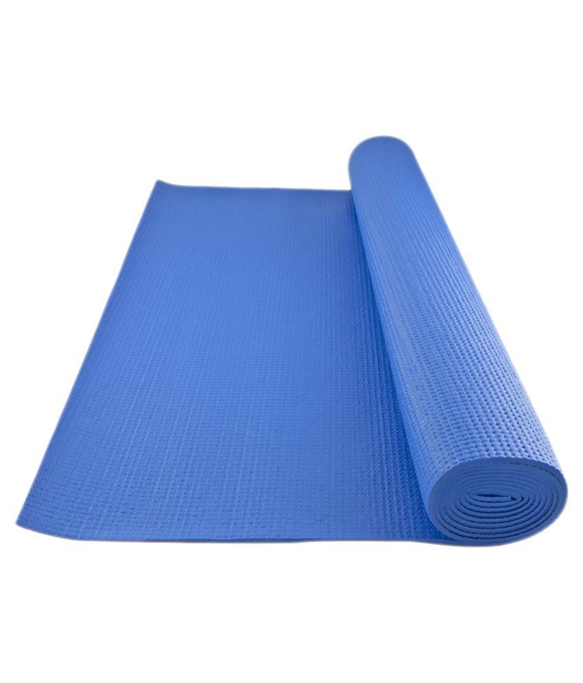 Bolt Blue Yoga Mat - 6mm