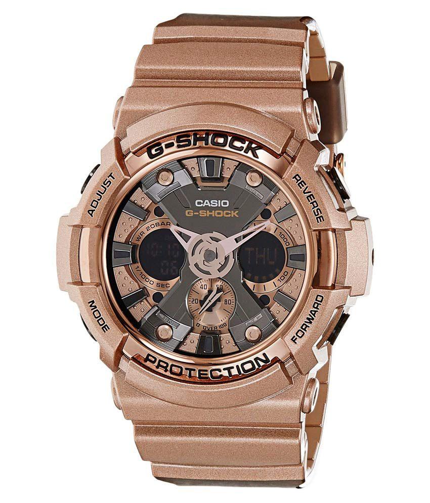 Casio G Shock Ga 200gd 9bdrg594 Tan Analog Digital Watch Buy 100l 1a
