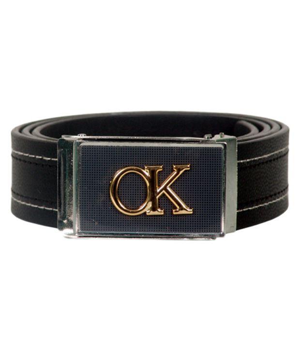 R-BN Black Formal Belt