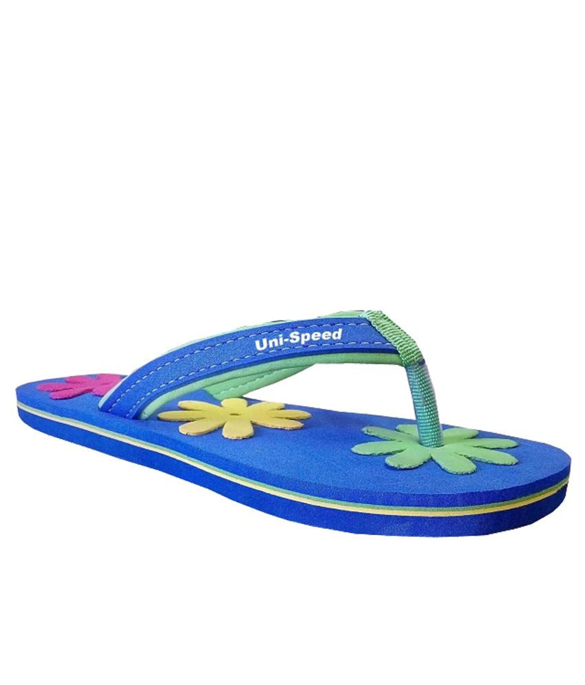 Unispeed Multi Cut Flower Flip Flops