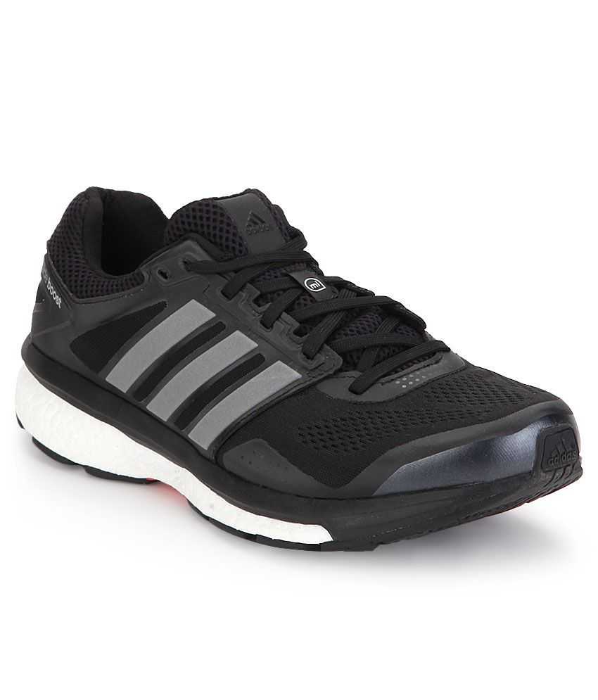 10b52342aa947 Adidas Supernova Glide Black Sports Shoes - Buy Adidas Supernova Glide  Black Sports Shoes Online at Best Prices in India on Snapdeal