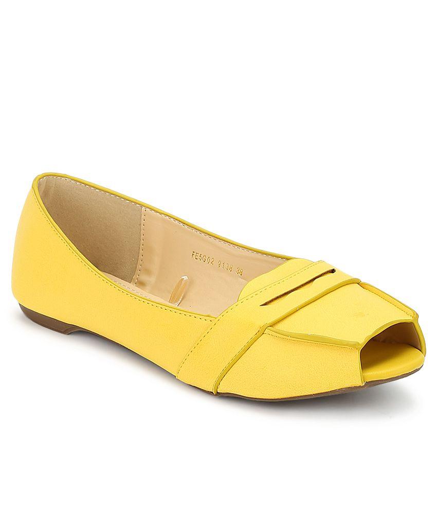Lavie Yellow Ballerinas