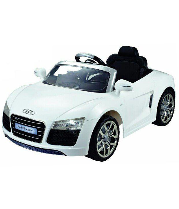 Next Gen Kids Battery Operated Audi R8 Spyder With R/C