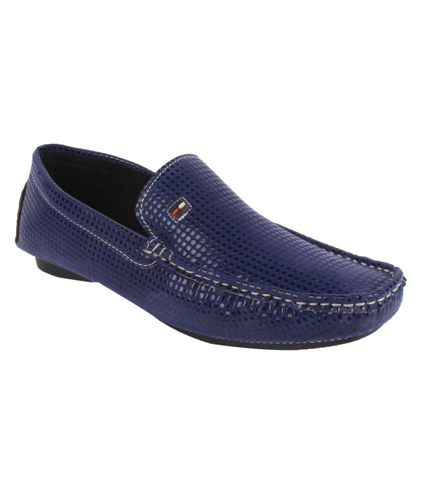 I Sports Blue Loafers