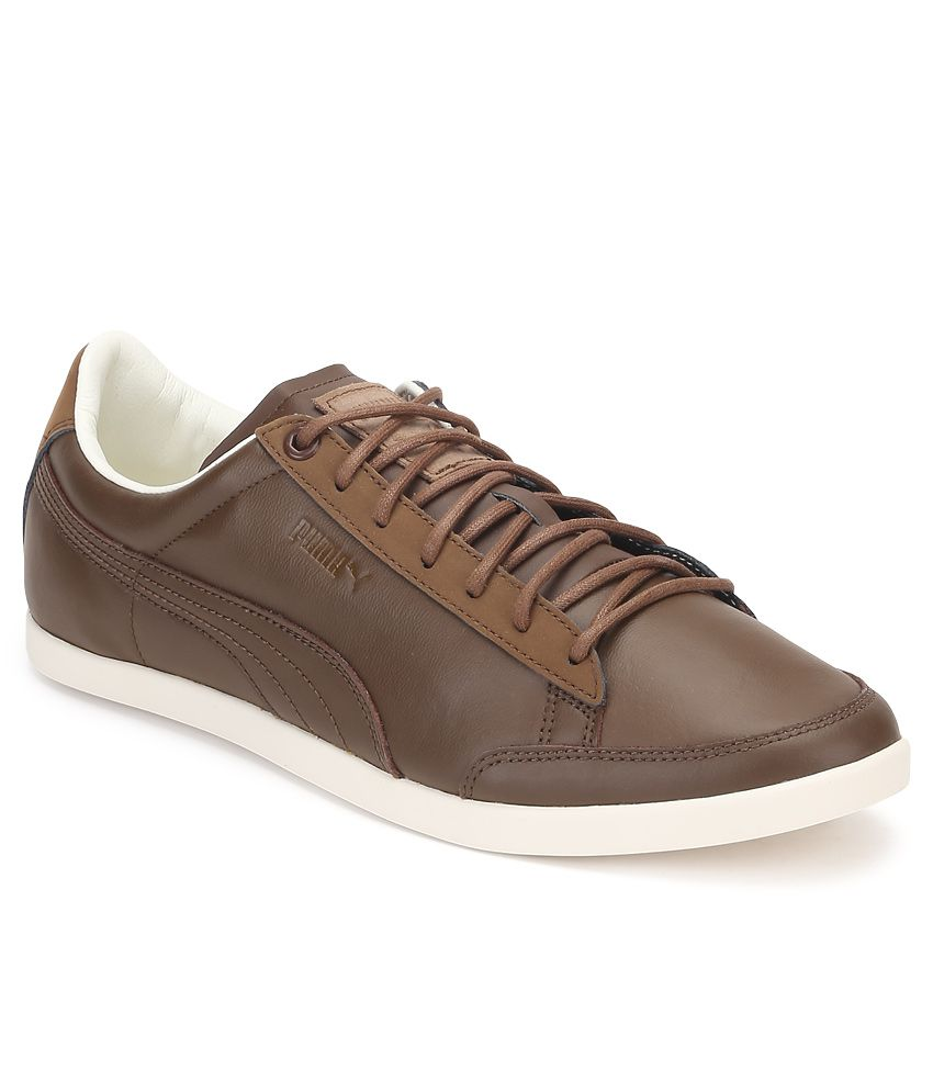 Puma Catskill Citi Series Brown Casual Shoes ...