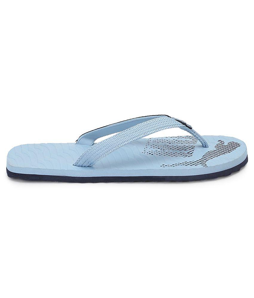 0539fd9a170 Puma Miami Fashion Blue Flip Flops Price in India- Buy Puma Miami ...