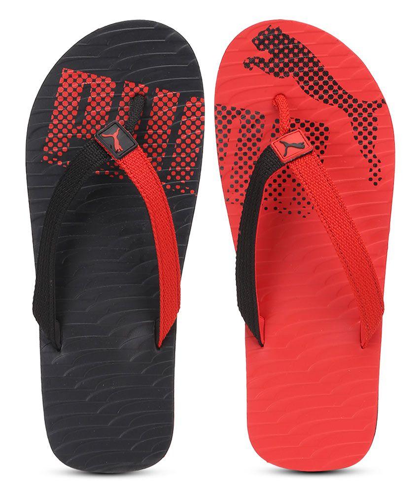 c80e72c2d697 Puma Miami Fashion Red ...Puma Miami Fashion Red Flip Flops