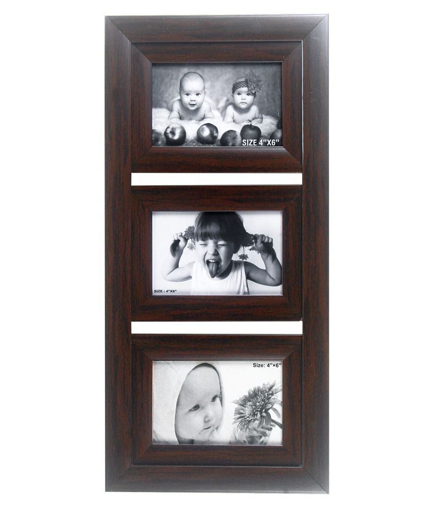 Wens 3 Picture Photo Frame