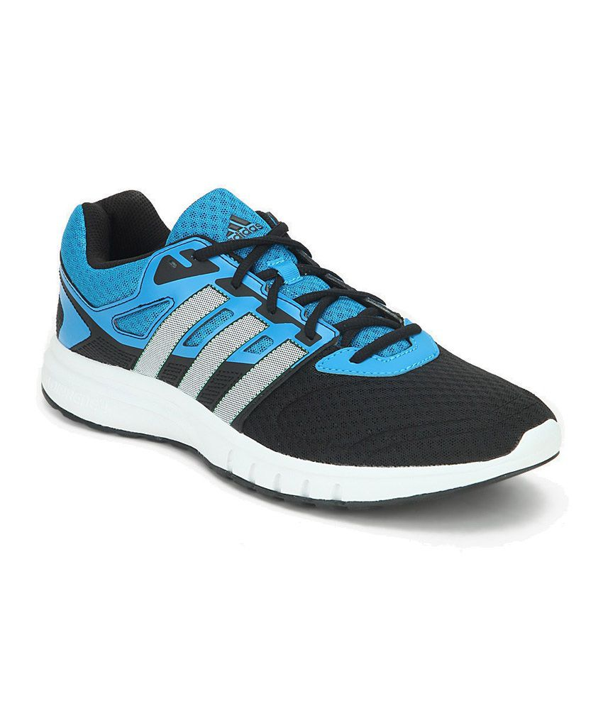 Adidas Galaxy 2 Blue And Black Running Shoes ...