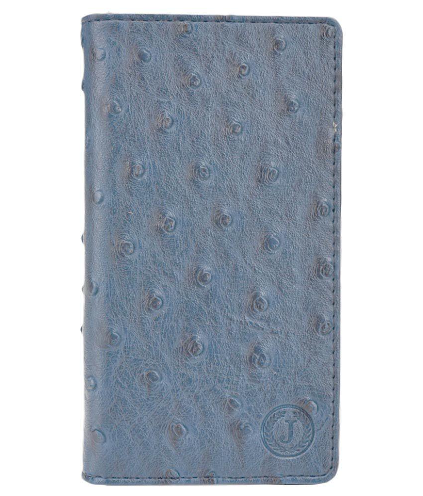 Jo Jo Flip Cover For BLU Studio 5.0 C HD - Blue