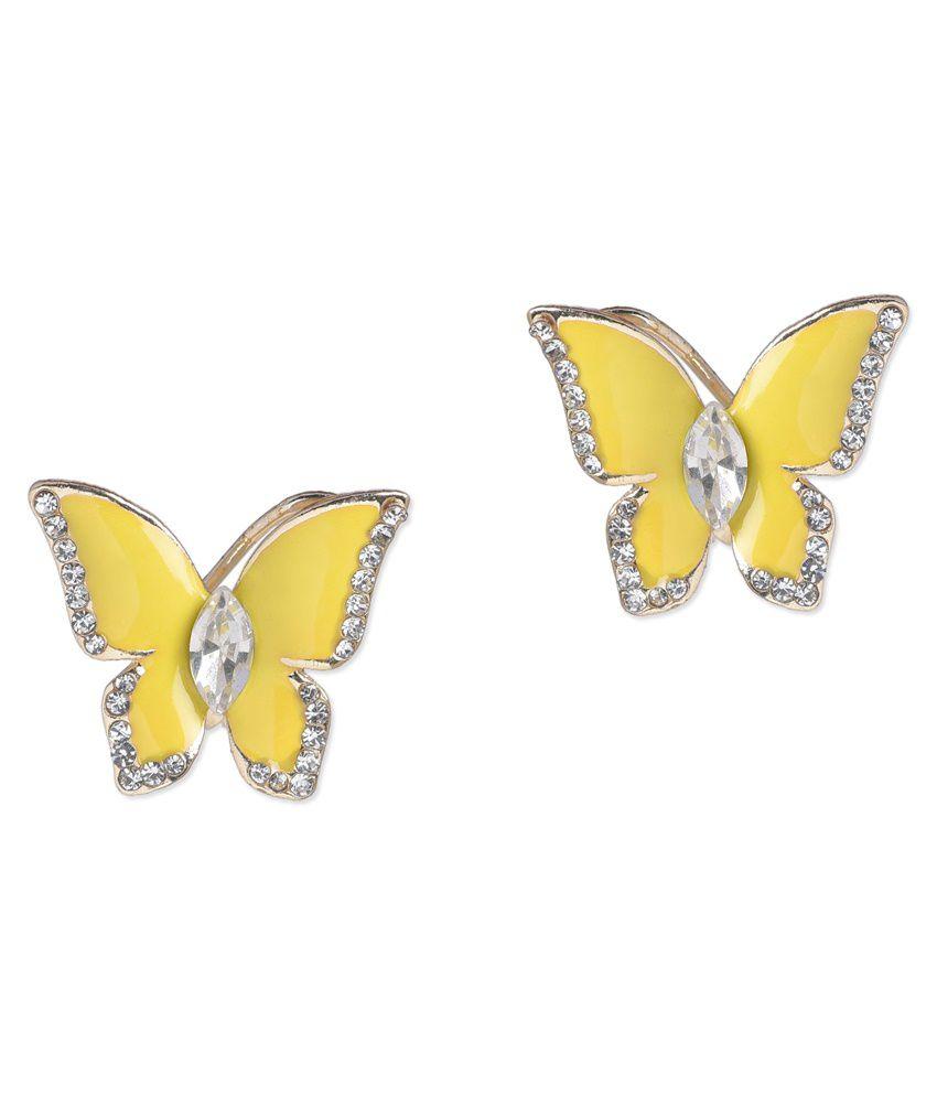 BGS Multicolour Alloy Stud Earrings