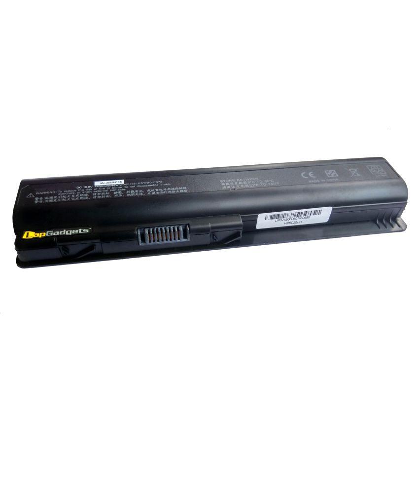 Lap Gadgets 4400mAh Li-ion Laptop Battery For HP/COMPAQ DV4, DV5 ,DV6, CQ40 ,CQ45, CQ 50 With Card Reader