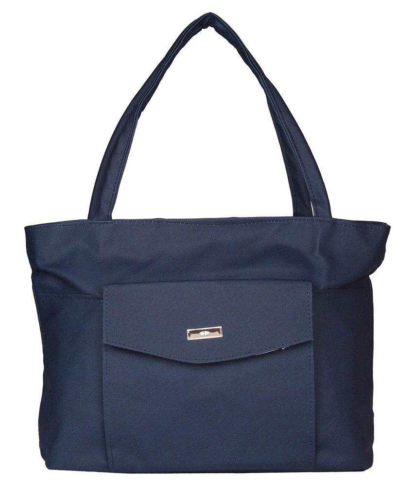 Purpleyou Blue Shoulder Bag