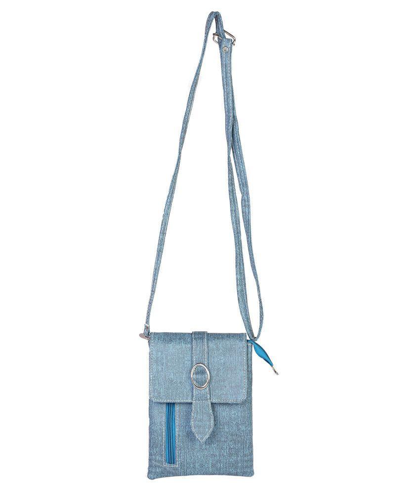 Purpleyou Blue Sling Bag