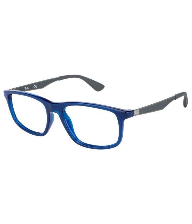 739240d20b Ray-Ban Blue Full Rim Frame Eyeglasses For Men - Buy Ray-Ban Blue Full Rim Frame  Eyeglasses For Men Online at Low Price - Snapdeal