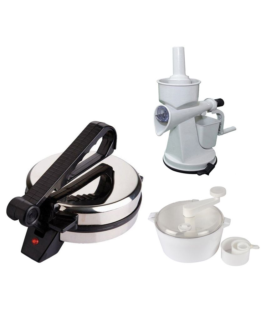 Grind Sapphire Pack Of Roti Maker Juicer And Atta Maker