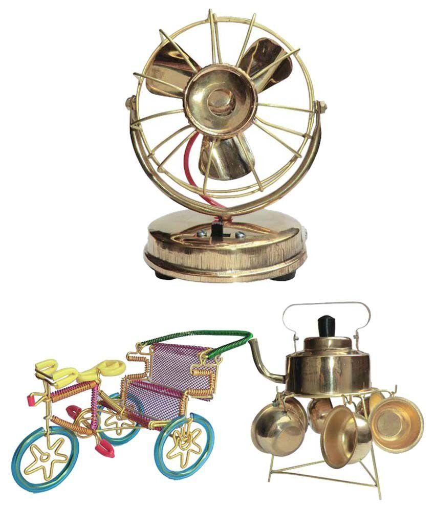 Ranger Brass Antique Miniature Model Showpiece Gift Set