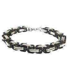 24 Carat Gold Foil Stainless Steel Bracelet