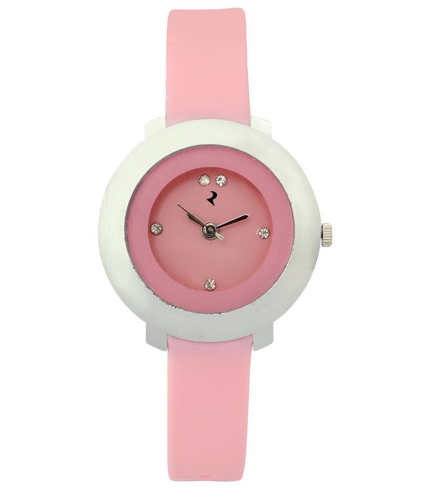 RIDAS Pink Casual Ladies Watch