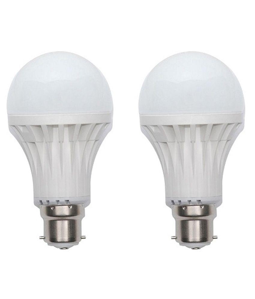 Bks White 7w Led Bulb - Set Of 2