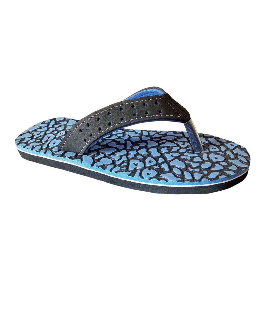 Unispeed Accuperssure & Blue Foot Massage Slippers