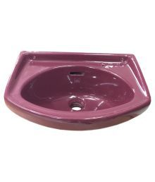 Cera Pink Chinaware Wash Basin