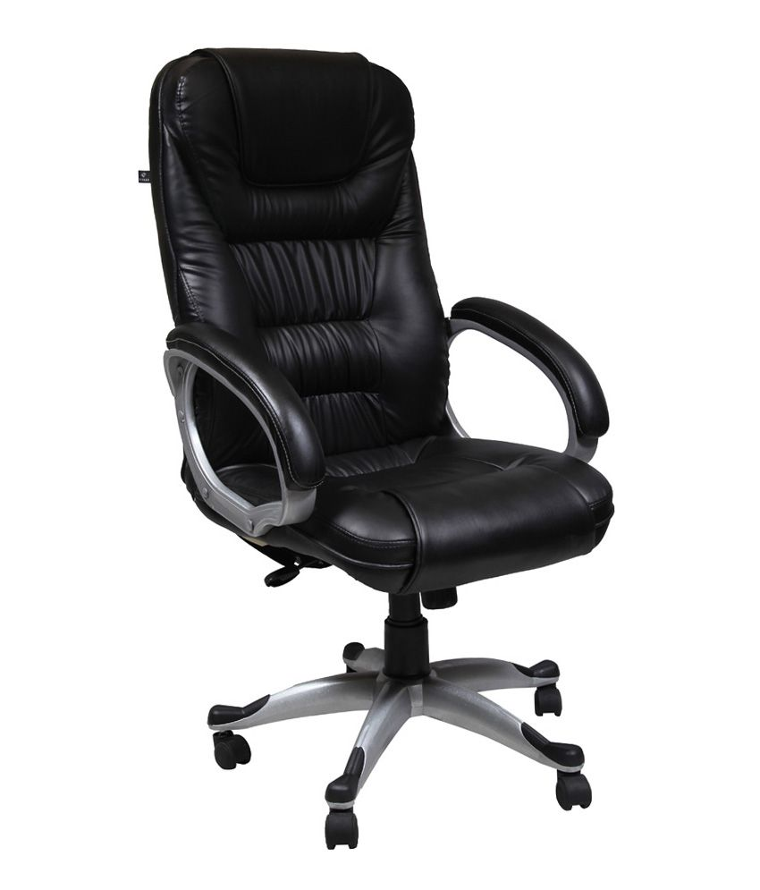 high back office chair in black buy high back office. Black Bedroom Furniture Sets. Home Design Ideas