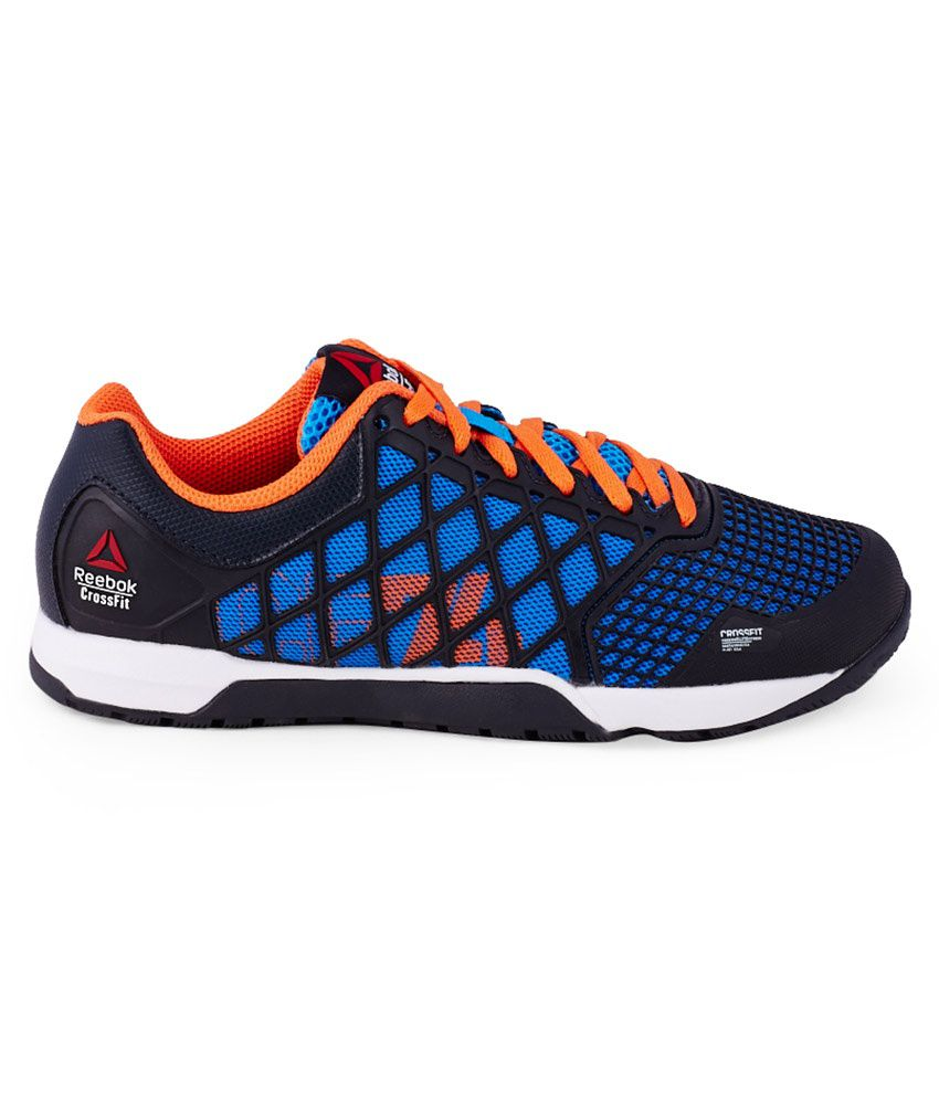 9d024d496475ee Reebok R Crossfit Nano 4 Blue Sports Shoes For Kids Price in India ...