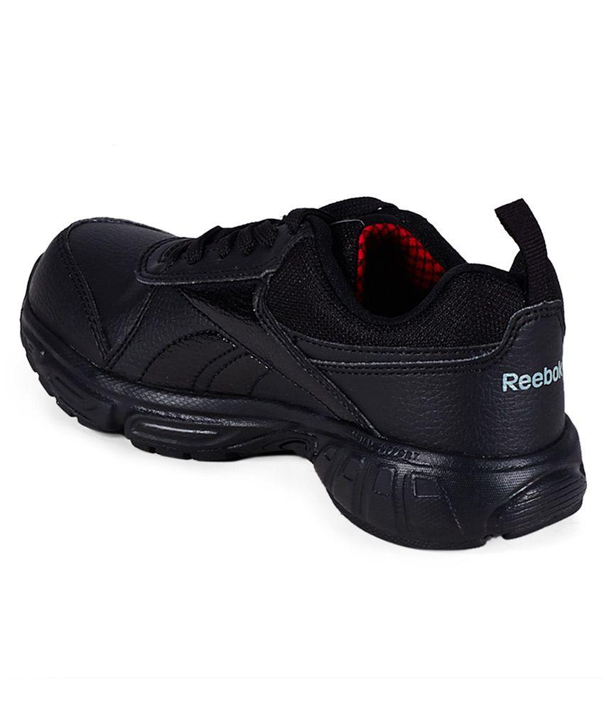 reebok black shoes for kids