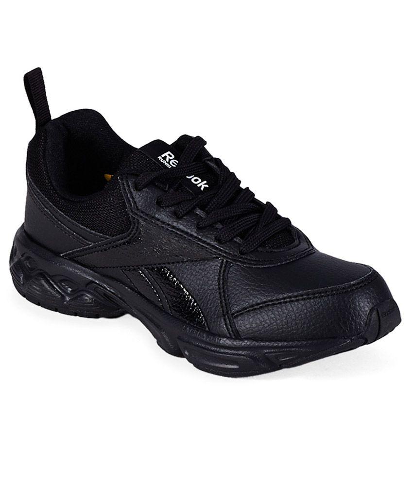 reebok school sports lp black sports shoes for price