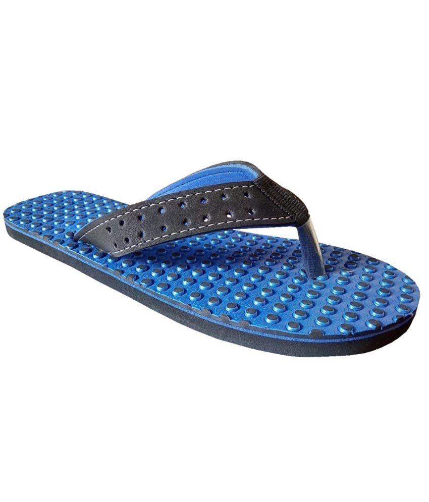 Unispeed Accupressure & Blue Foot Relief Slippers