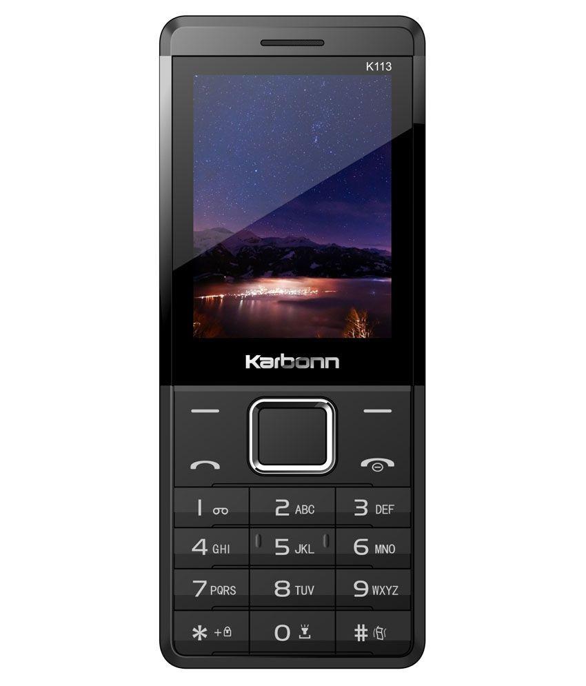 Karbonn K113 Plus Black