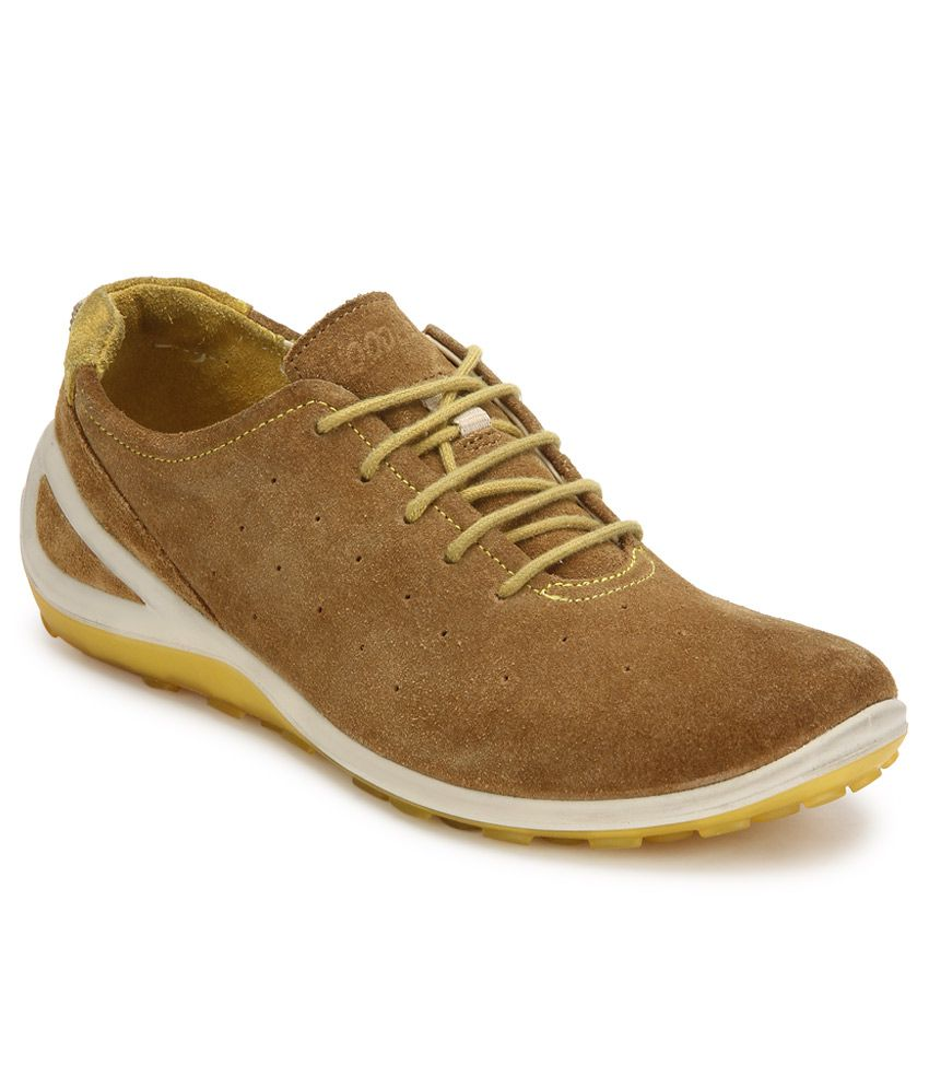 Woodland Brown Casual Shoes - Buy Woodland Brown Casual ...