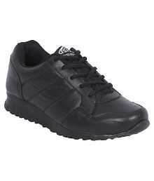 Asian Black Sports Shoes For Kids