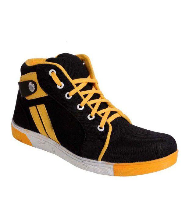 Lagesto Econogo Orange & Black Boots