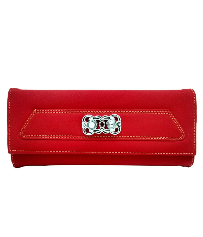 Mark Louis Red PU Wallet
