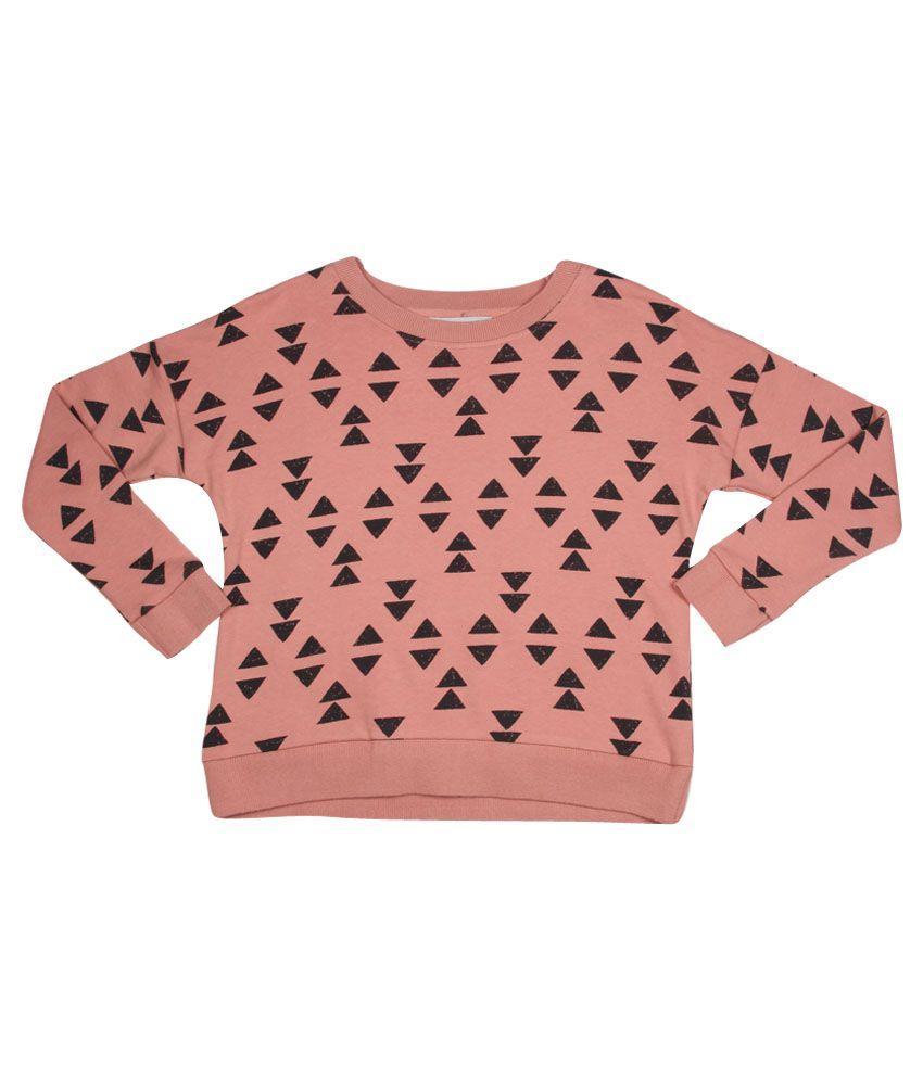 Milk Copenhagen Pink Printed Sweatshirt