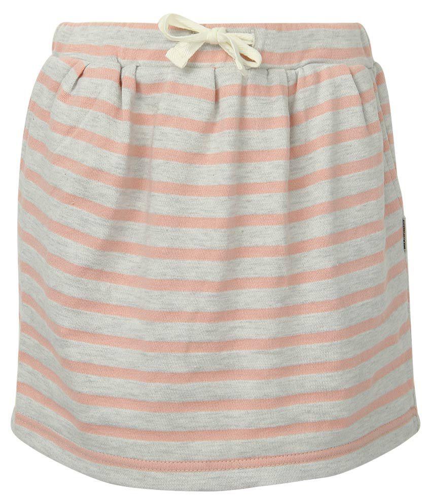 Milk Copenhagen Pink Striped Skirt