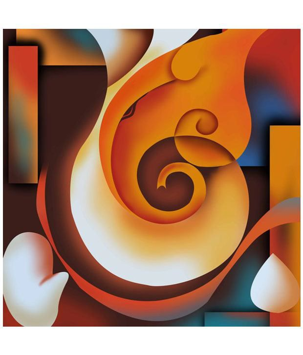 Art factory matte ganesha painting buy art factory matte for Average cost of a mural