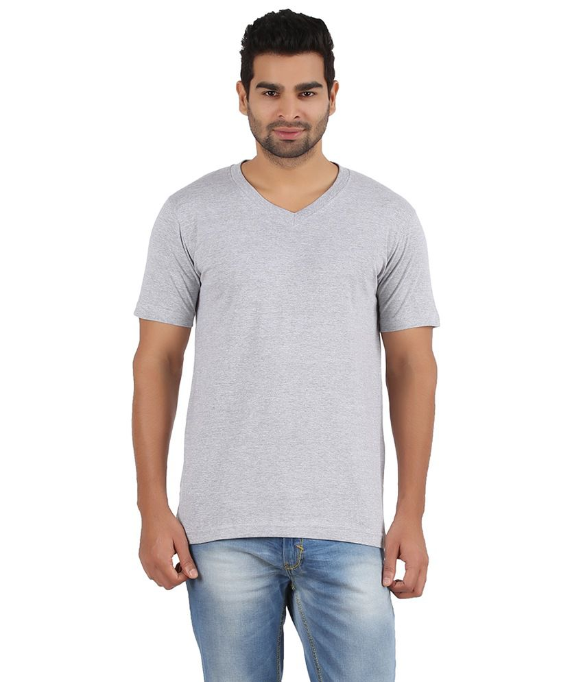 Pulse Grey Cotton T- Shirt